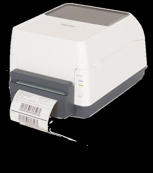 Foto van een desktop label printer Toshiba B-FV4T