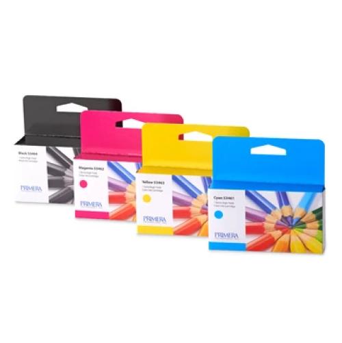 Inktcartridges voor Primera kleuren labelprinter