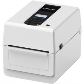 Desktop label printer BV400D direct thermisch van Toshiba - wit