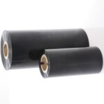 Thermo transfer printfolie in zwart, twee formaten