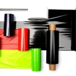 Thermo transfer printfolie in zwart, rood, groen