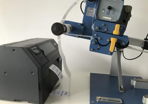 Epson C6500 kleuren labelprinter met Starter