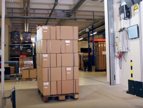 RFID toepassing in warehouse